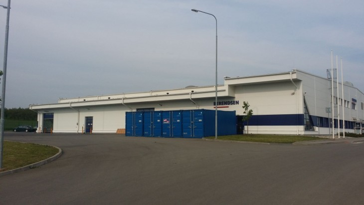 Rental service and laundry of clothes BERENDSEN in Velké Pavlovice - 2nd phase