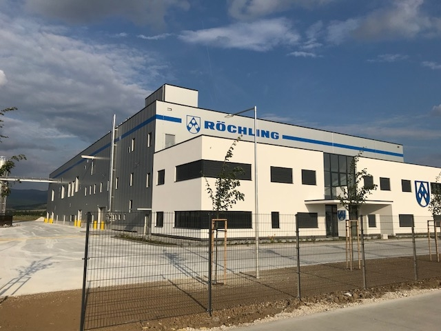 Production and storage hall Röchling Automotive Slovakia in Kočovce