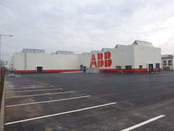 ABB - production hall South in Brno, Horní Heršpice