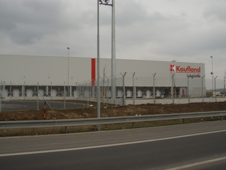 Distribution centre Kaufland in Olomouc 1st and 2nd phase